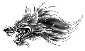 small wolf head tattoo design by yujiandhisboa on deviantart