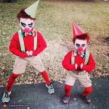scary costumes for kids scary kid clown costumes