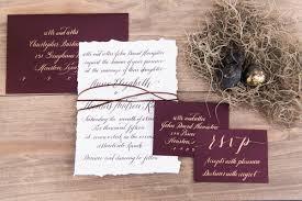 Calligraphy Wedding Invitations Calligraphy Wedding Invitation Archives Southern Weddings