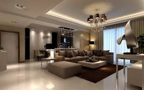 Brown Beige Living Room Ideas Modern Furniture Sandstone Floor - Beige living room designs
