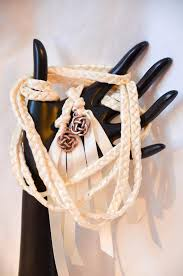 celtic handfasting cords celtic knot wedding fasting binding cord v2 ivory 6ft