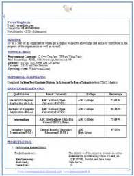 cv format for b tech freshers pdf to excel resume format b tech freshers pdf
