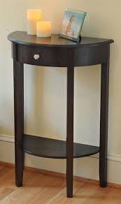 half moon console table with drawer half moon hall table w drawer decor pinterest drawers hall