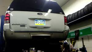 2004 ford expedition fuel pump gas tank removal youtube