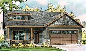craftsman style house plans with porches small craftsman ranch