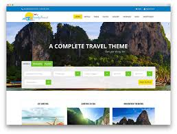 travel web images 50 jaw dropping wordpress travel themes for travel agencies jpg