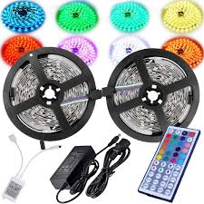 led color changing light strips amazon com magic beam led strip lighting full kit 10 meter 32 8