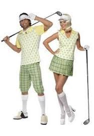 Golf Halloween Costume Golfing Costumes Women Thinking Dressing