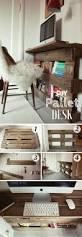 15 incredible do it yourself pallet ideas pallet desk pallets