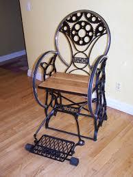 Where To Buy Rocking Chair Custom Fabricated Chair U2026 Steampunk Cast Iron Sewing Machine