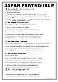 39 free esl natural disasters worksheets