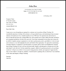 customer service representative cover letter examples write a