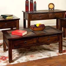 slate wood coffee table wood and slate coffee table cofe slate and wood coffee table set