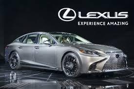 lexus new 2018 all new 2018 lexus ls500 passenger side view