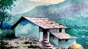 house landscape in watercolor paint with david youtube