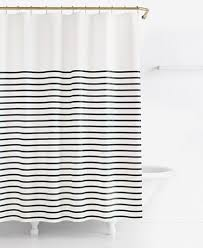 endearing black and white shower curtains and chinese style