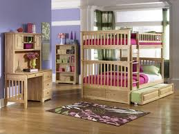 Atlantic Furniture Columbia Full Over Full Bunk Bed - Full over full bunk bed with trundle
