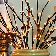 pre lit branches lighted branches and willow branch lights electric