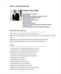 Dentist Resume Sample by Dentist Curriculum Vitae Templates 8 Free Word Pdf Format