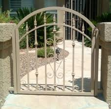 ornamental iron gates affordable fence gates