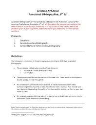 apa format directions apa format annotated bibliography websites granitestateartsmarket com