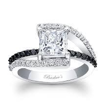 black diamonds rings images Bill french engagement rings jpg