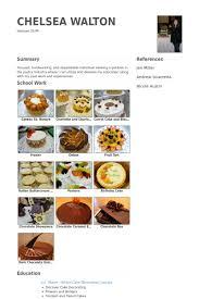 Baker Resume Sample boulanger exemple de cv base de données des cv de visualcv