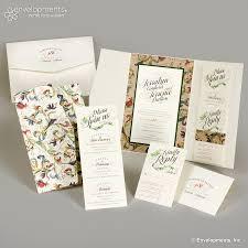 floral wedding invitations by soiree custom paper u0026 co