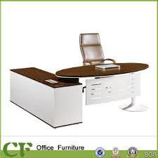 Office Executive Desk China Metal Frame Powder Coating Oval Office Executive Desk