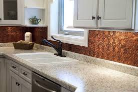 copper backsplash for kitchen hammered copper backsplash kitchen savary homes