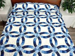 wedding ring quilt for sale amish wedding ring quilts for sale wedding ring quilt pattern