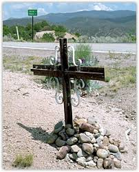 roadside crosses resting places a documentary about roadside memorials