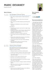Training Resume Examples by Personal Trainer Resume Samples Visualcv Resume Samples Database
