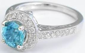 white zircon rings images Blue zircon ring with diamond halo from myjewelrysource gr 1069 jpg