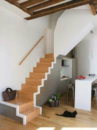 Staircase Ideas For Small Spaces Small Kitchen Space Saving Stairs Ideas Stairs For Cabin