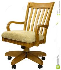 Free Desk Chair Oak Office Chair Royalty Free Stock Image Image 2287116