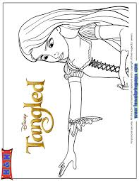 disney tangled coloring pages printable printable coloring