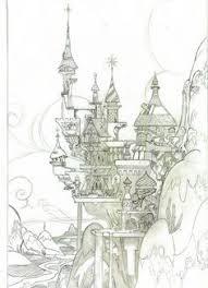 kastelenimpressie ontwerp voor droomvlucht copyright efteling