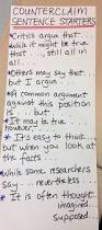 persuasive research paper topics for college students 33 best anchor charts argumentative writing images on pinterest