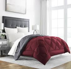 home design down alternative color king comforter amazon com sleep restoration goose down alternative comforter