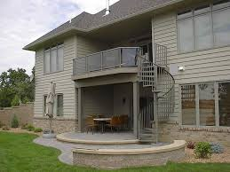 decorations casual exterior metal staircase fence decorating for