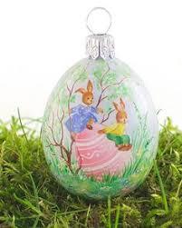 glitter easter egg ornaments the maypole large pastoral egg light green glitter easter