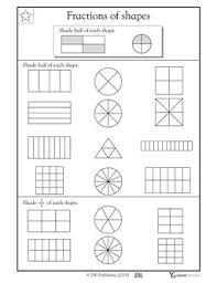 les 25 meilleures idées de la catégorie fractions of shapes sur