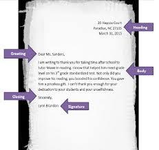 Semi Block Letter Format Business Letter Semi Block Format Thank You Letter Cover Letter Templates