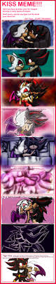 Just Kiss Meme - shadow and rouge kiss meme by theorangesunflower on deviantart