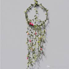 2018 peace simulation roses vines dreamcatcher handmade