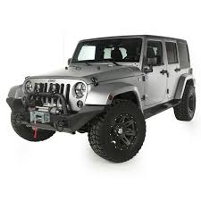 Rugged Ridge Jeep Bumpers 11540 52 Front Xhd Winch Bumper High Clearance Ends And Center Hoop