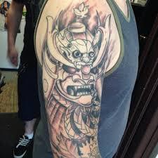 samurai warrior tattoo sleeve pictures to pin on pinterest