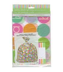 unique industries pastel baby shower jumbo plastic gift bag 44 x36