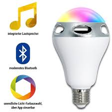 Esszimmerst Le Segm Ler Le 24w Rgb Deckenleuchte Mit Bluetooth Lautsprecher 1500lm Dimmbar